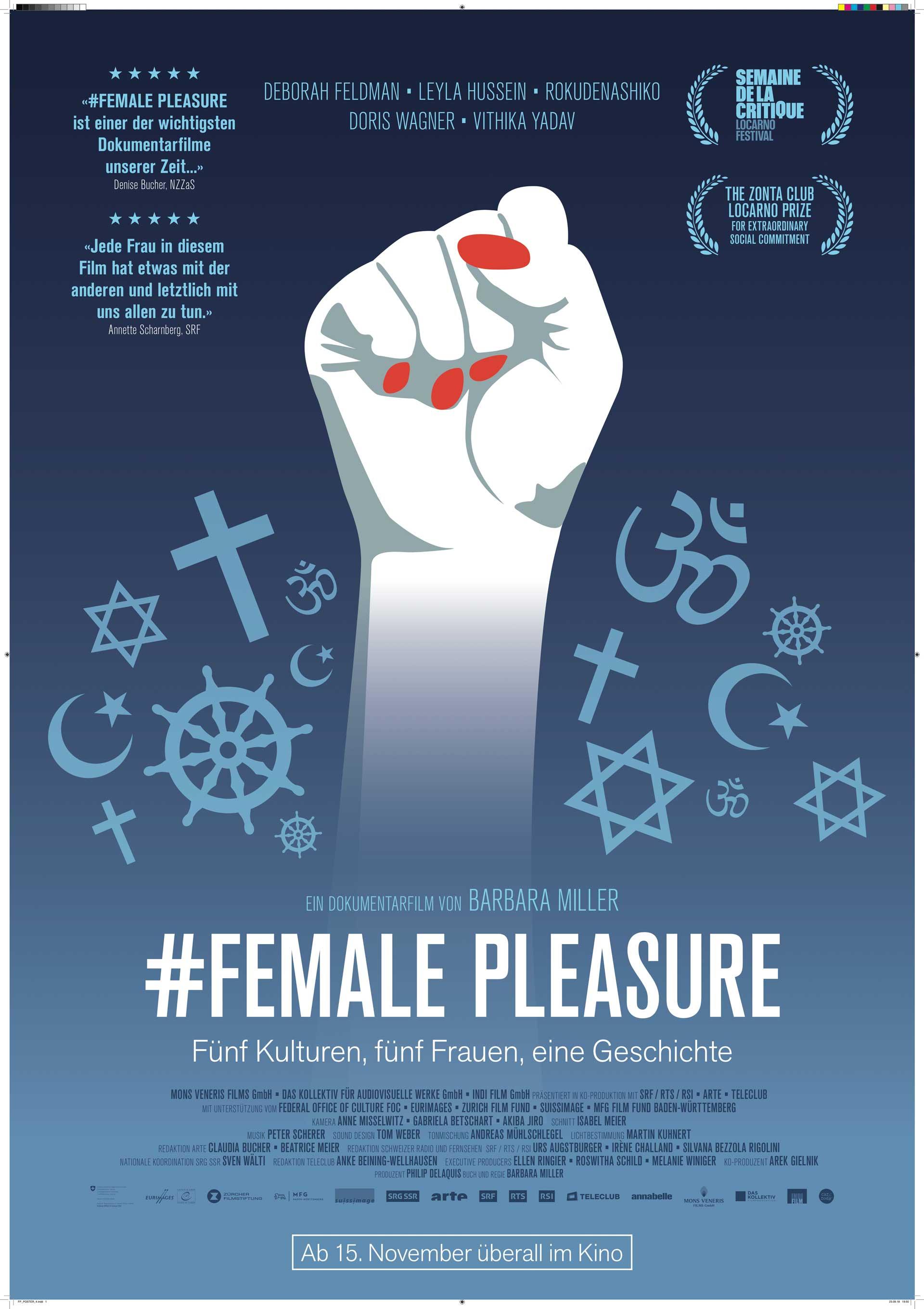 Filmplakat #Female Pleasure - Kamerafrau Anne Misselwitz