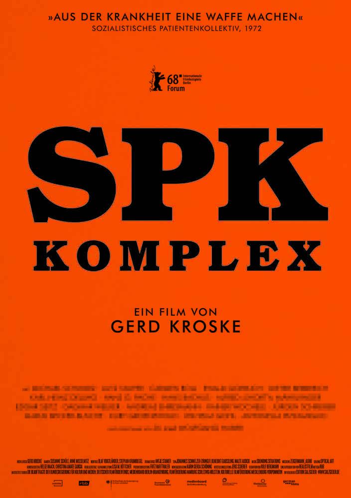 Filmplakat SPK Komplex - Kamerafrau Anne Misselwitz