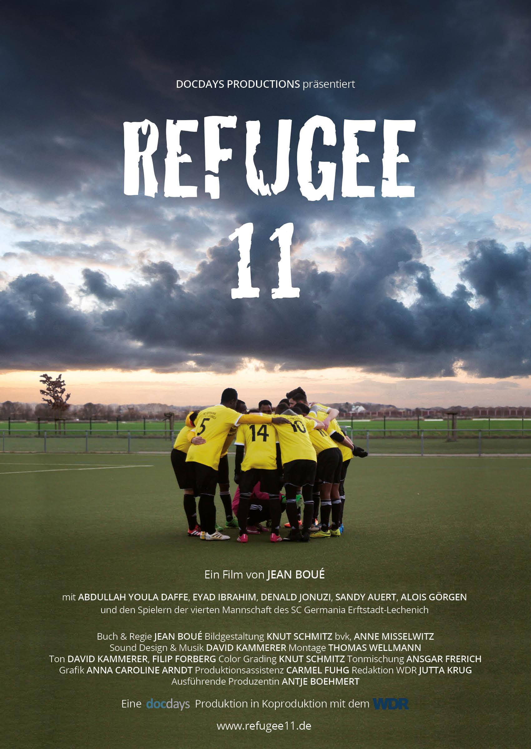 Filmplakat Refugee 11 - Kamerafrau Anne Misselwitz