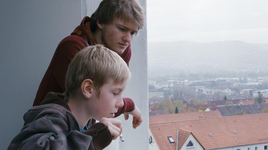 Standfoto Kopfüber - Kamerafrau Anne Misselwitz