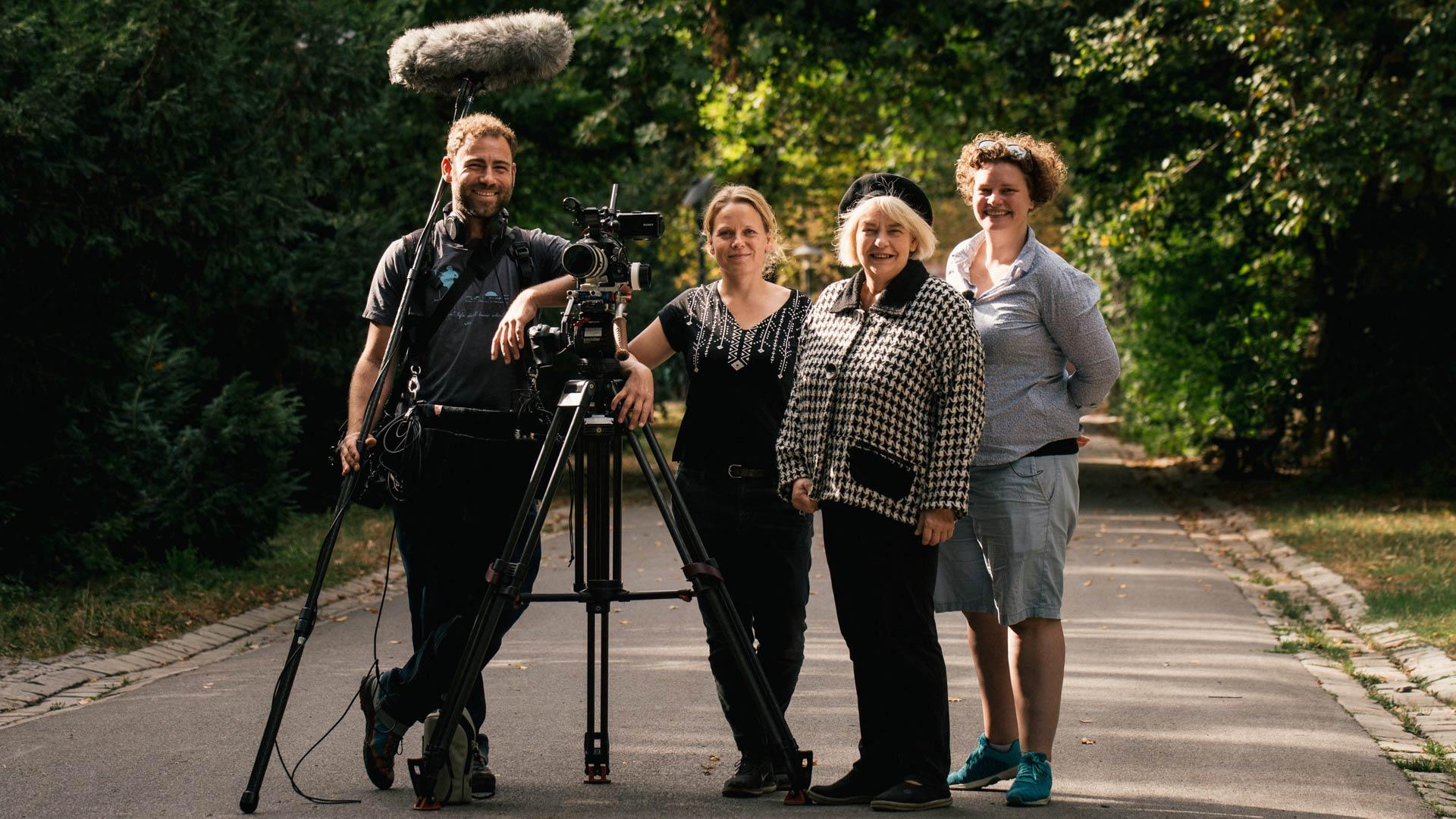 Team Uferfrauen - Kamerafrau Anne Misselwitz